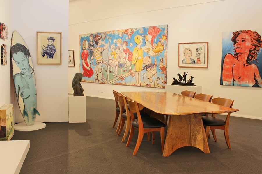 Jahroc Galleries Artists banner