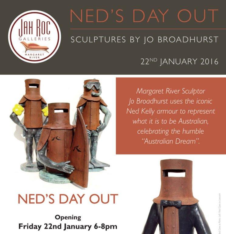 Jo Broadhurst Exhibition Neds Day Out 22nd Jan 2016 Fine Art