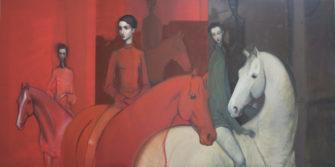 Lauren Wilhelm   In This Together Fine Art