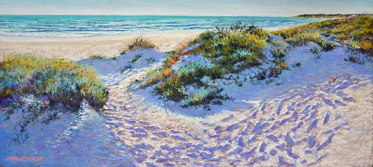 Shirley Fisher   Autumn Beach Fine Art