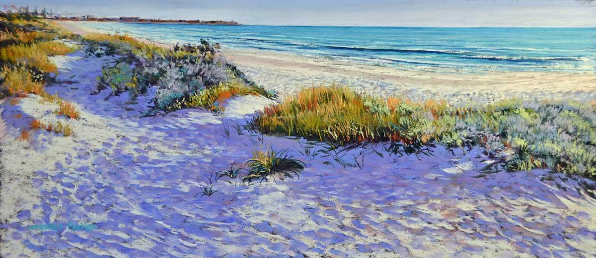 Shirley Fisher   Port Beach Outlook Fine Art