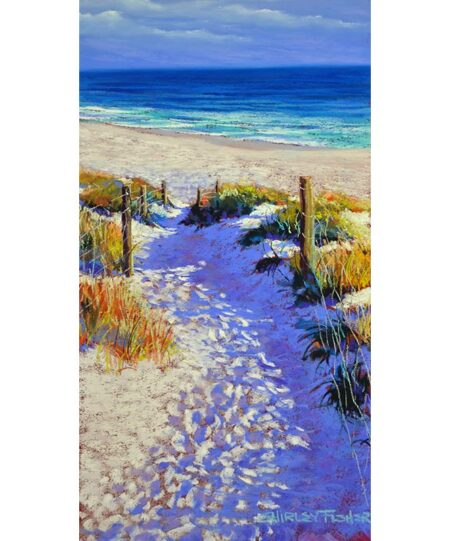 Shirley Fisher The Beach Beckons