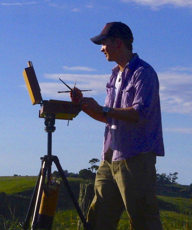Andrew Tischler In Field