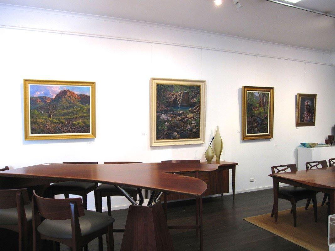 Andrew Tischler Paintings In The Gallery 2