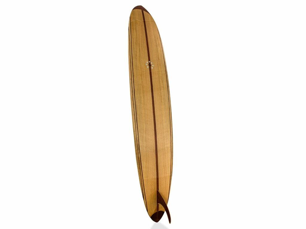 9 Gun Malibu Wooden Surfboard