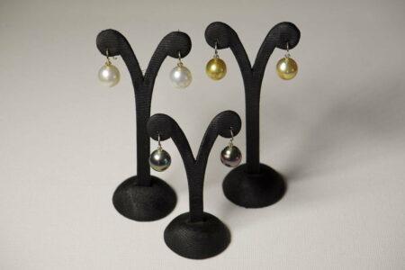 Evelyn Henschke South Sea Pearl Drop Earings