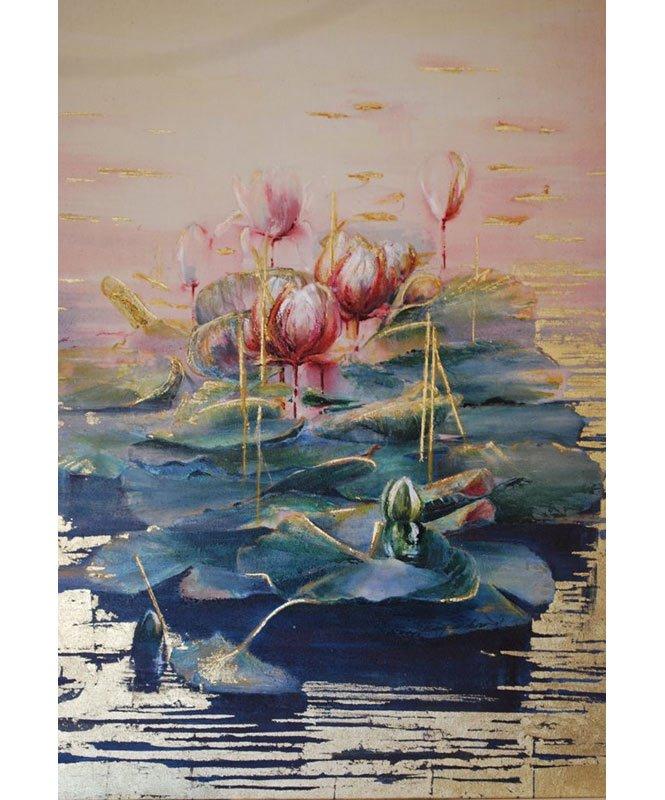 Jenny Sanderson   Water Lilies Fine Art