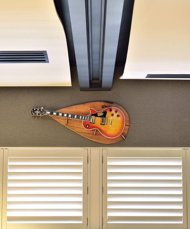 Man Cave Commission Designer Guitar Wall Hanger 1