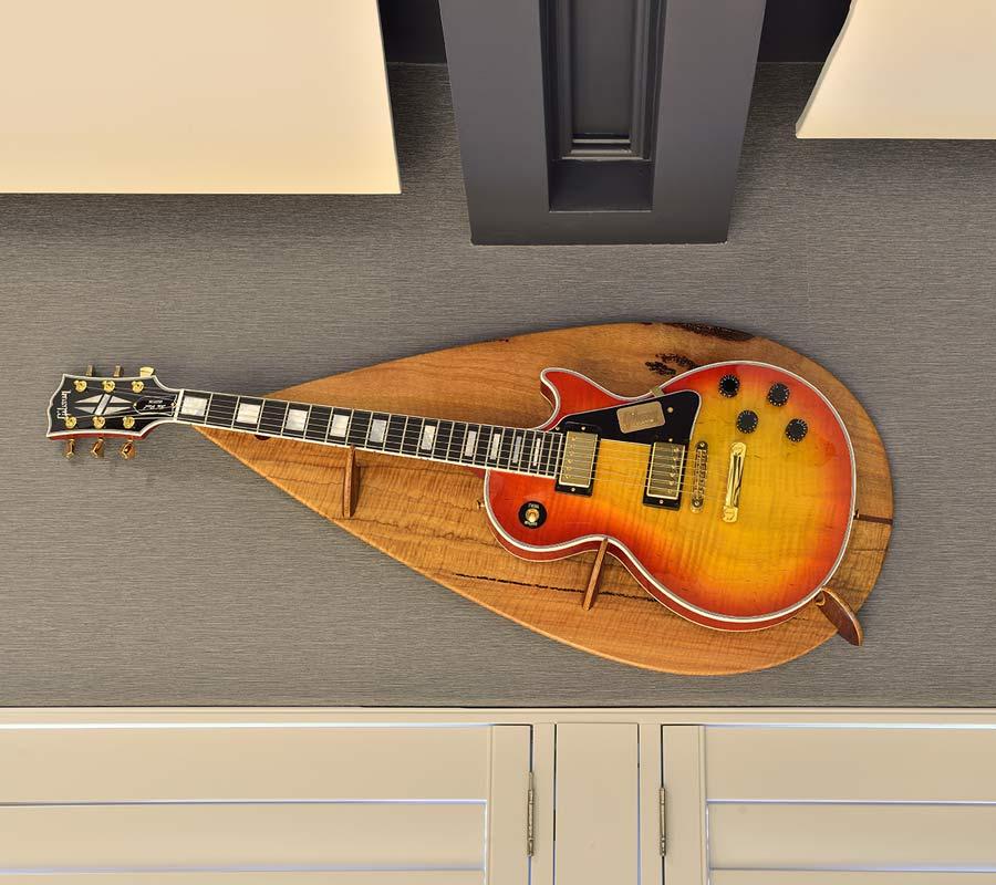 Man Cave Commission Designer Guitar Wall Hanger