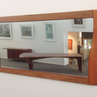 Silhouette Timber Wall Mirror