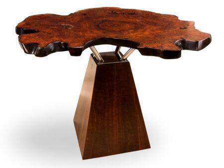 Unique Jarrah Burl Bar Table 1