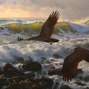 Andrew-Tischler-Final-Flight-oil painting