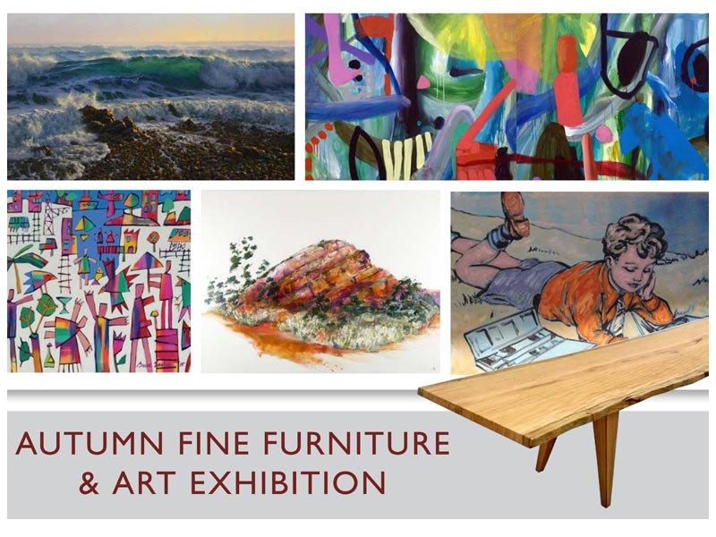 Autumn Fine Furniture Art Exhibition Banner2