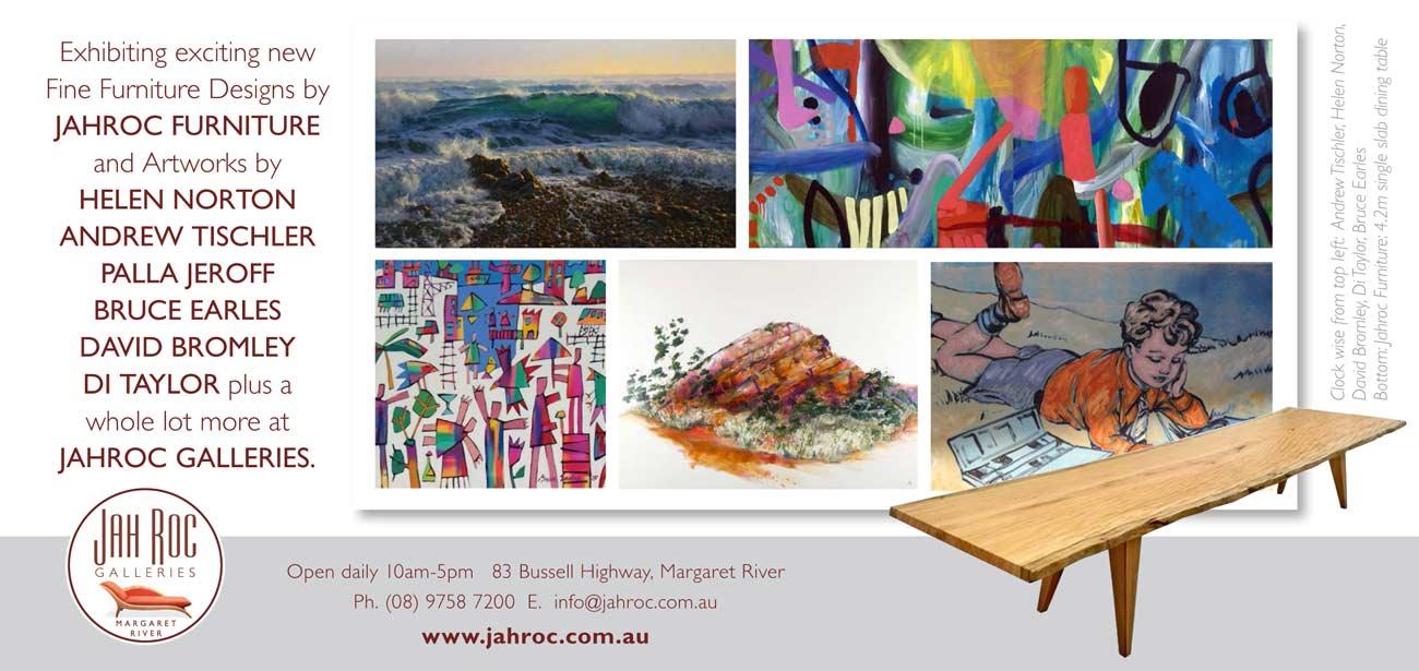 Autumn Fine Furniture Art Exhibition Back