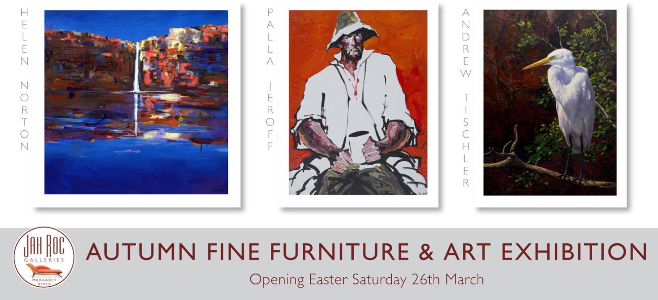 Autumn Fine Furniture Art Exhibition Front