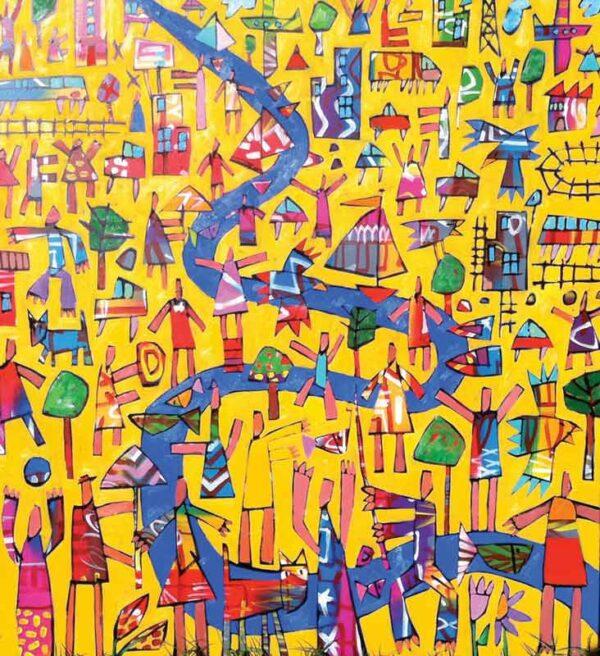 Bruce Earles Fun Flow Painting