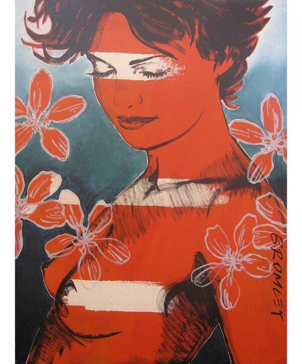 David Bromley Charlotte Nude Painting Dbr236
