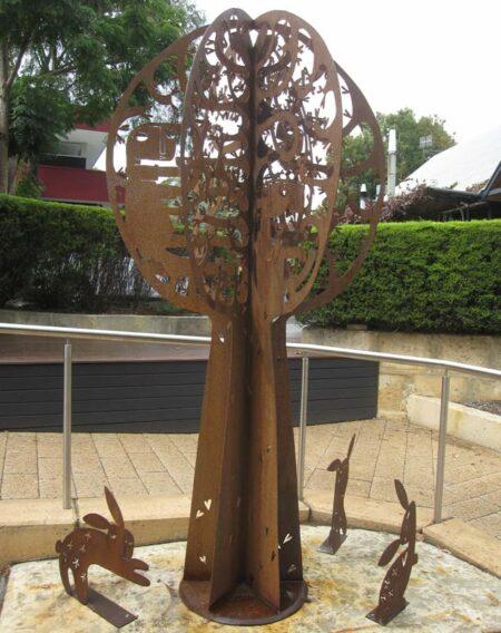 Janine Daddo Tree 4 Sculpture