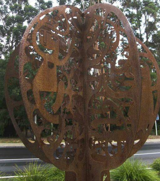 Janine Daddo Tree 4 Sculpture Detail