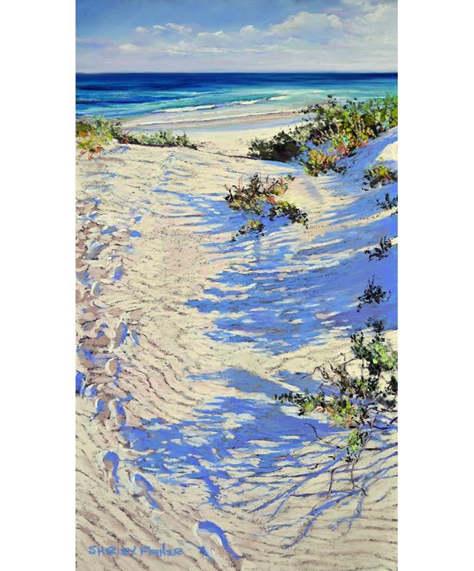 Shirley Fisher   Coastal Tranquility Fine Art