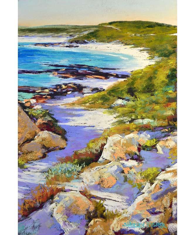 Shirley Fisher   Redgate Back Beach Fine Art