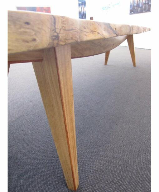 The Hull 4 2m Marri Single Slab Dining Table