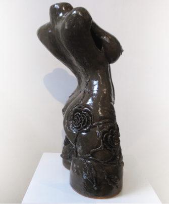 Lauren Rudd Leaves and Roses Sculpture 2 335x403