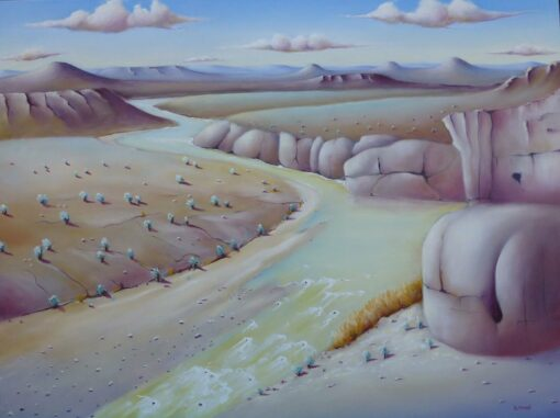 Shane Moad Down On The Rio Grande Painting