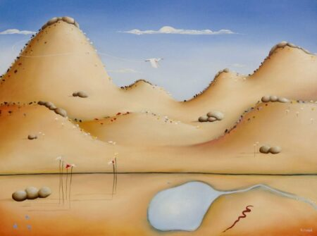 Shane Moad Toodyay Hills Summer 101mx76cm Painting