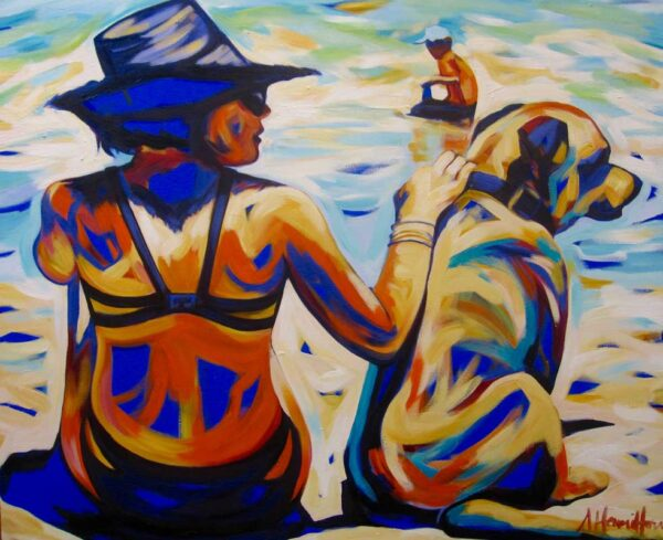 Shannon Hamilton Best Buds Painting