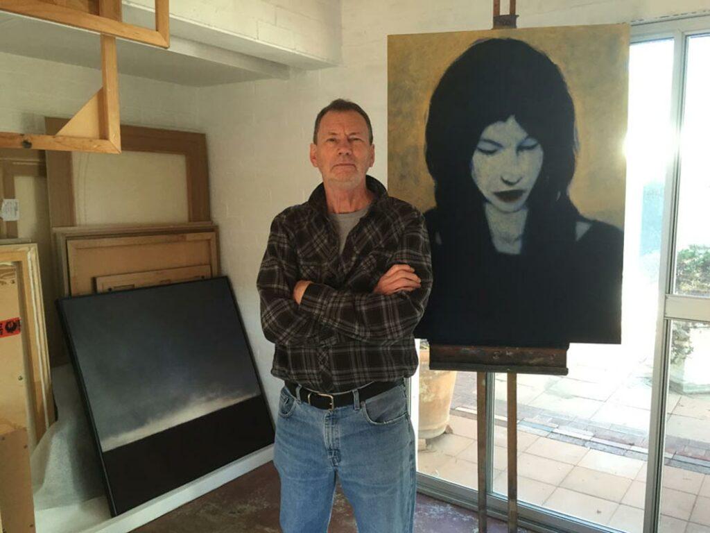 Alan Marshall Portrait Artist Studio Image
