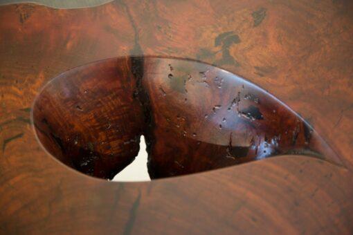 Jarrah Burl Trunk Coffee Table Detail