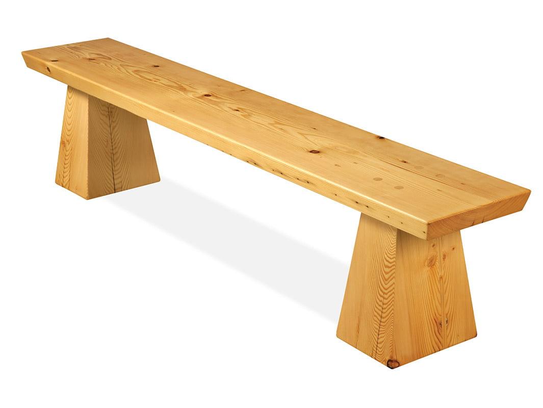 Jetty Oregon Bench Seat • Fine Furniture Design   Fine Art Paintings    JahRoc Galleries