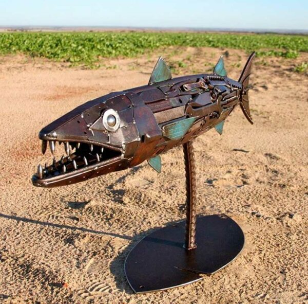 Jordan Sprigg The Great Barracuda Side View 2 120X55X30Cm 5900