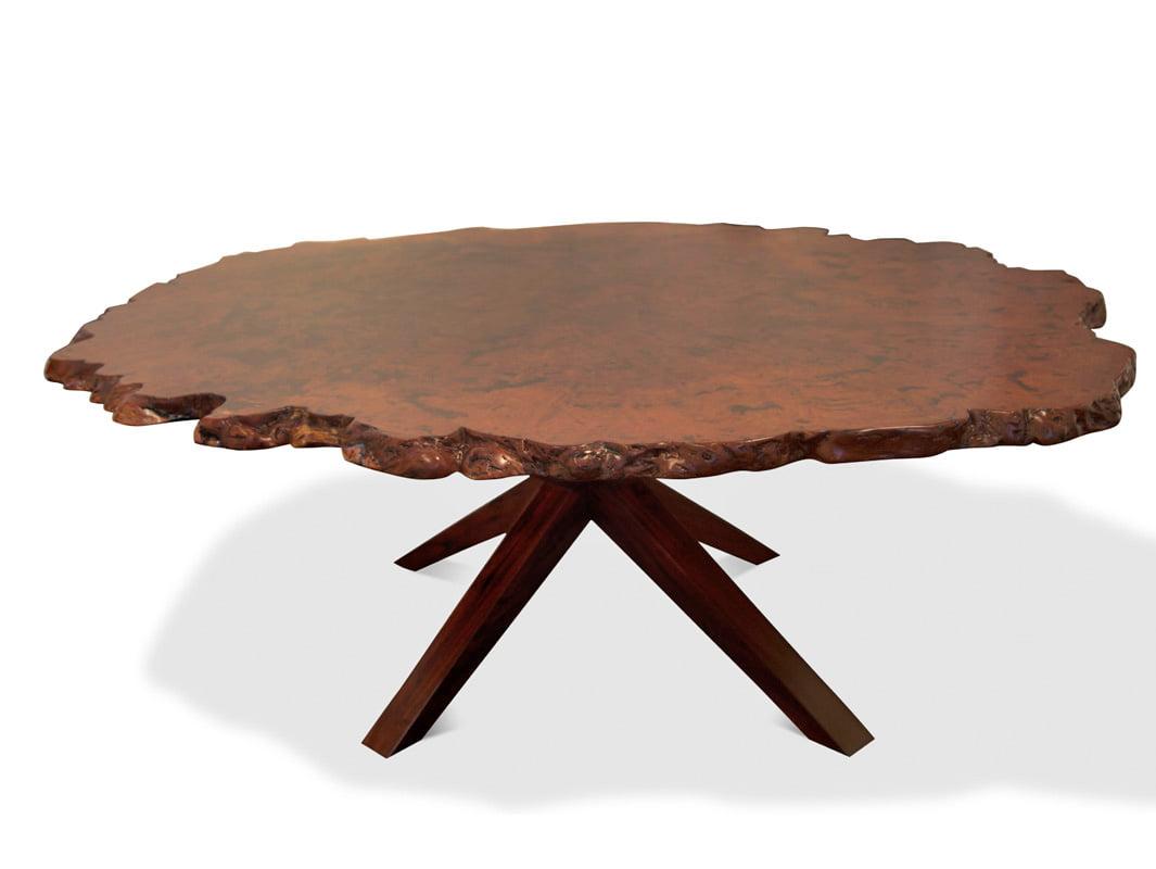 Karri Burl Dining Table Fine Art