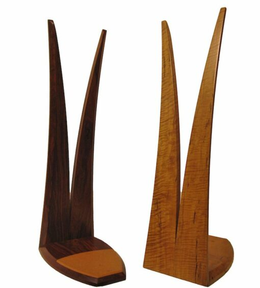 Timber Surfboard Display Stand Jarrah Marri