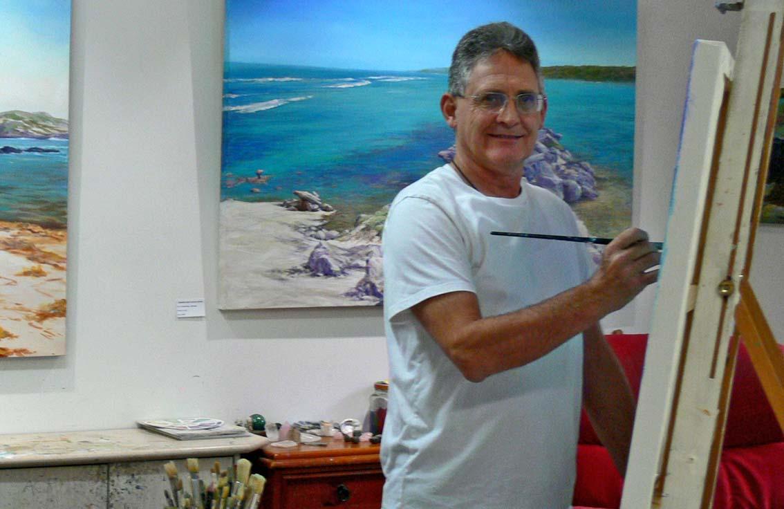 Peter Scott Artist Studio 2016