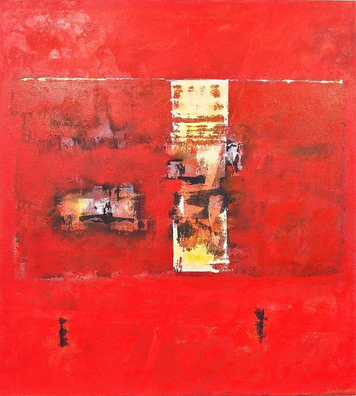 Ralph Stanton   Symphony In Red Fine Art