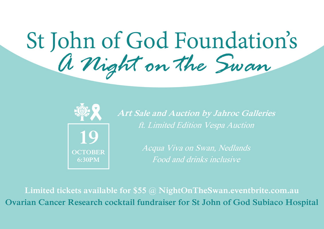 St John of God Foundation Fundraiser - ART AUCTION