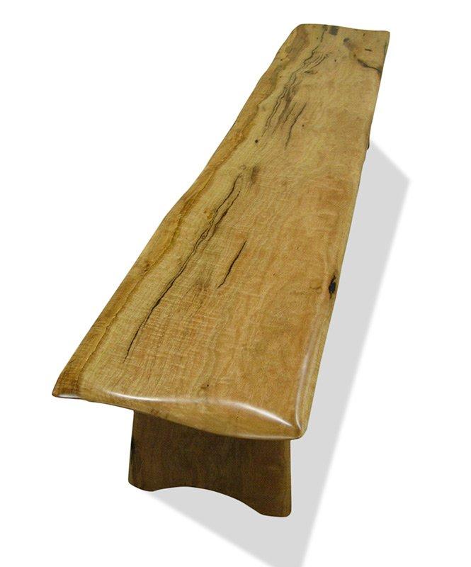 Superieur Spock Wooden Bench Seat Fine Art