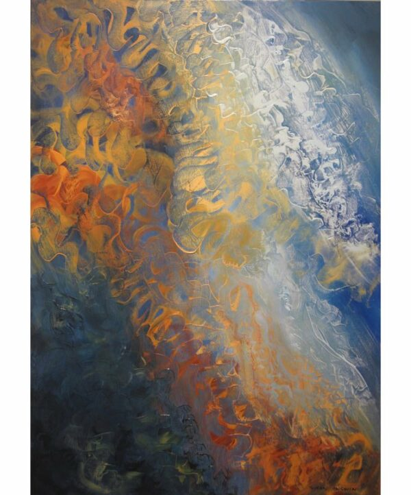 Susan Angwin Meditation Motion 1 Painting