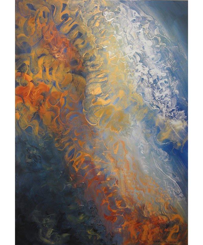 Susan Angwin   Meditation Motion I Fine Art