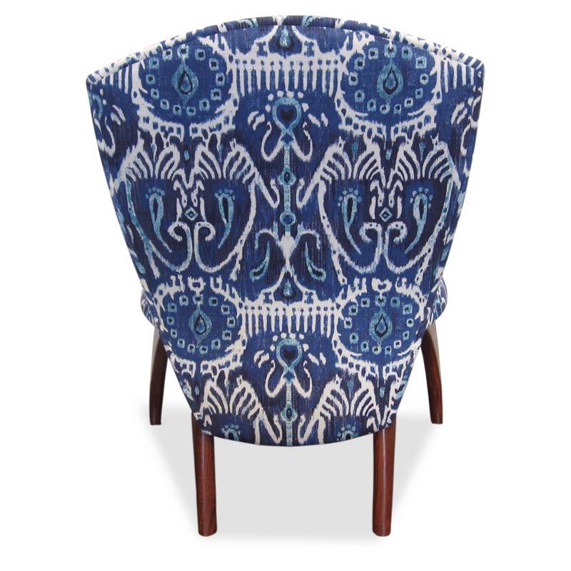 Cray Jarrah Lounge Chair Ikat Fine Art