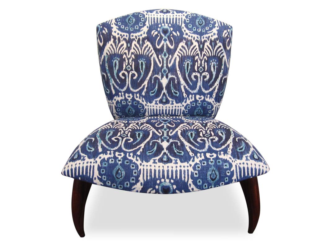 Cray Jarrah Lounge Chair   Ikat Fine Art