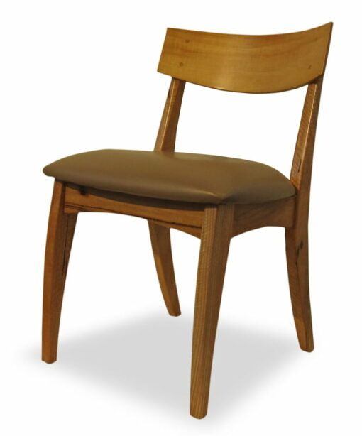 Dance Dining Chair With Small Square Back Side