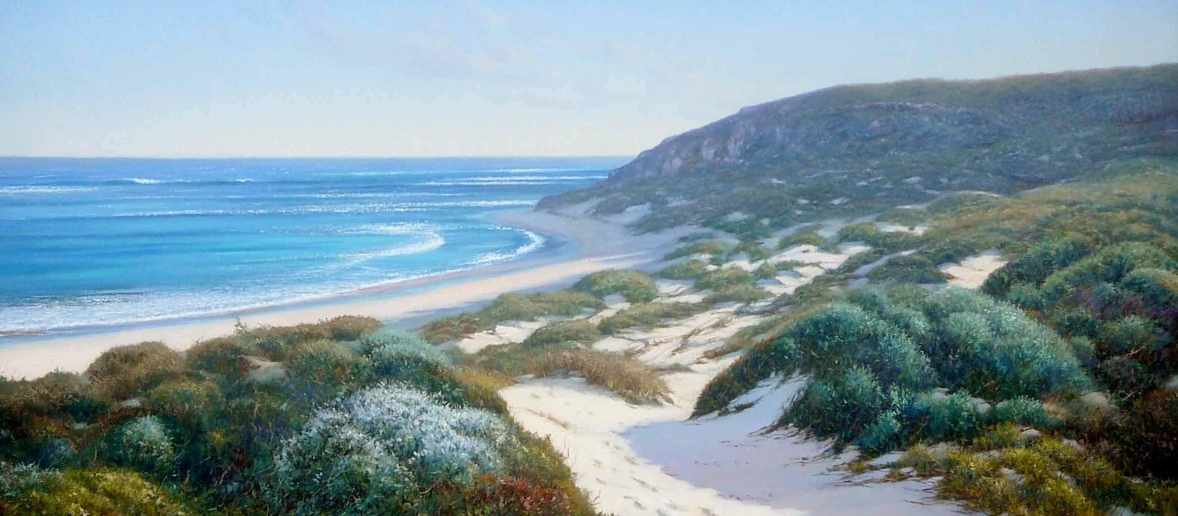 Kerry Nobbs   Gas Bay Dunes Fine Art