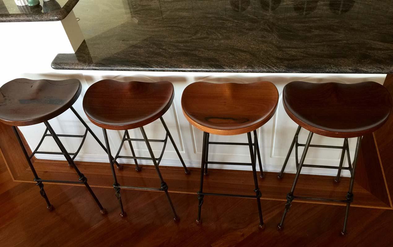 Resale cafe bar stools fine furniture design art