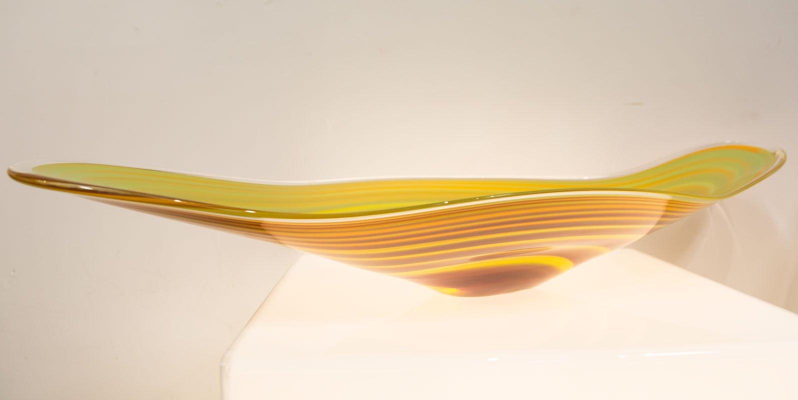 Grant Donaldson   Coolamon Platter Yellow Fine Art