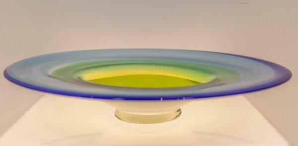 Eileen Gordon Circular Platter Glass Art 2