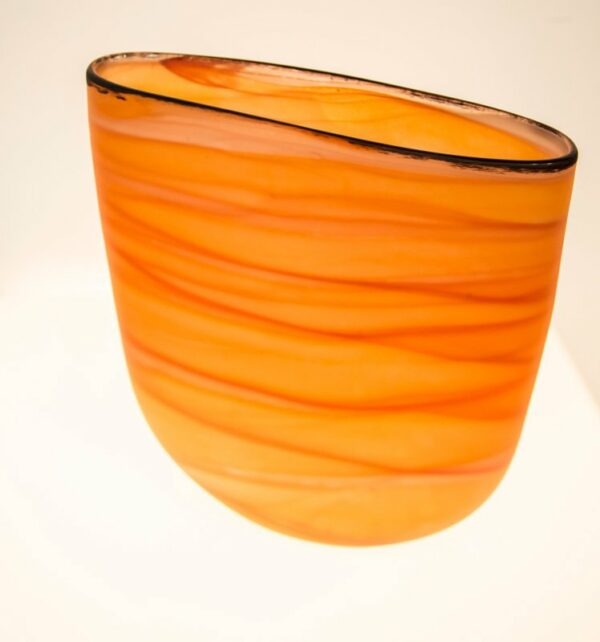 Grant Donaldson Sands 2 Vase Glass Art